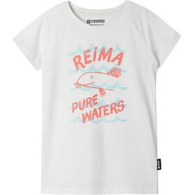 Reima Silein T-Shirt Girls, off white